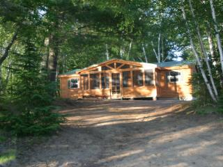 Adirondack Lake front Cabin with beach - Speculator vacation rentals
