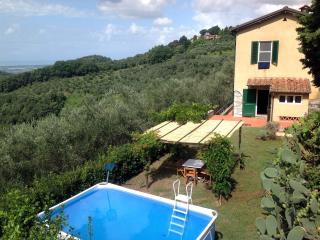 Belvedere, 2 bedrooms with sea view and s.pool - Massarosa vacation rentals