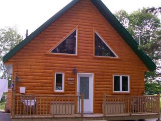 Modern log cabin, joli chalet au Lac-Saint-Jean - Sainte-Monique vacation rentals