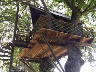 HOLIDAYS TREE HOUSE in Brittany (CABANE PERCHEE ) - Yvignac-la-Tour vacation rentals