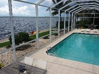 River Dream - 3 Bedrooms, 2.5 Baths, Electric Heated Pool, Riverfront, Southern Exposure - Cape Coral vacation rentals