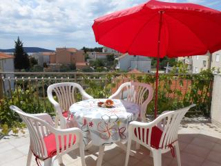 Red apartment with terrace see wiew - Vodice vacation rentals