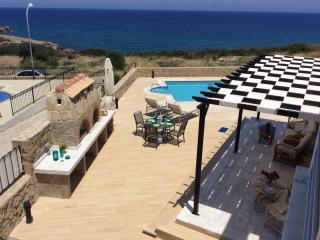 Justina Villa set in a quite area on the sea front - Ayios Amvrosios vacation rentals