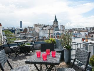 Duplex w/ roof top terrace - Sept special rate - Paris vacation rentals