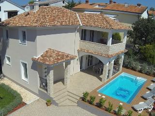 Villa KRK : house pool, 150 m from sea, sea view - Krk vacation rentals