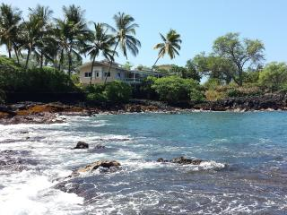Oceanfront Private Homel for 12 4 bedroom 4 bath - Kona Coast vacation rentals