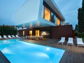 BEACHFRONT brand new 5 bedrooms modern villa! - Porec vacation rentals