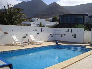 Villa Famara with private pool and sea views - Famara vacation rentals