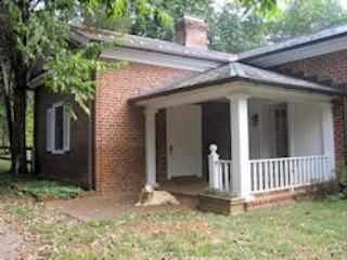 Cottage, owner's dog - Cottage on Farm property bordering the James River - Scottsville - rentals
