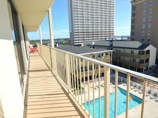 Gulf Village 417 - Fully equipped beachfront condo- 4 TVs, balcony, grilling - Gulf Shores vacation rentals