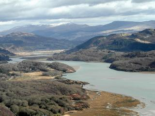 On the Mawddach estuary with views of Cader Idris in Southern Snowdonia Wales UK - Llanelltyd vacation rentals