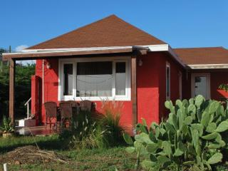 Red Cottage with nice seaview, close to beaches - San Nicolaas vacation rentals