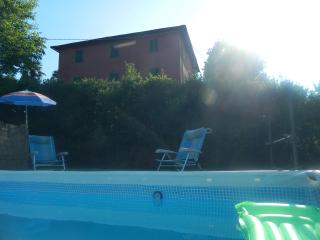 Villa of the 19th-century farmhouse style, panoramic view, private pool - Pescia vacation rentals
