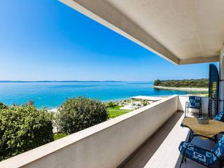 Villa Mirella-apartment for 5, first to the sea!! - Kozino vacation rentals