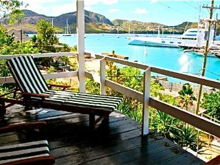 Charming Studio with Ocean Views.. Falmouth Harbour ..Luxurious Location at Great rates..Free Wi fi - Antigua vacation rentals