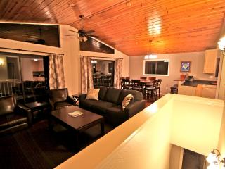 Moonstone Lodge - game room with pool table! - Lake Arrowhead vacation rentals