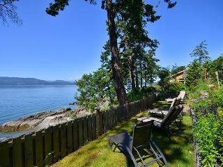 Victoria Area Deep Cove Ocean Front 5 Bedroom Private Vacation Home - North Saanich vacation rentals