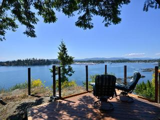 Spectacular Sidney 3 Bedroom Ocean Front Home with Incredible Island Views - Mill Bay vacation rentals