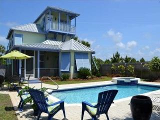hot tub-private pool-sleep 18 - Santa Rosa Beach vacation rentals