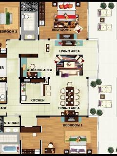 Luxury 3 bedroom Ocean View apartment in Resort - Cape Panwa vacation rentals