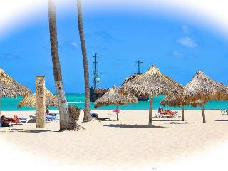 Private Gated Beachfront Community lounges/Palapa - Bavaro vacation rentals