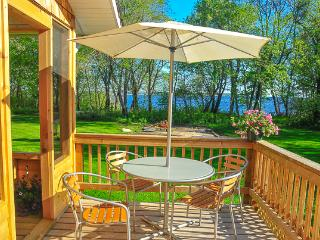 Beautiful Lakefront Cedar House in Victoria Beach, MB facing Elk Island - Manitoba vacation rentals