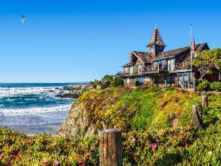 Oceanfront home w/private hot tub, views from deck, up to 4 dogs welcome! - Fort Bragg vacation rentals