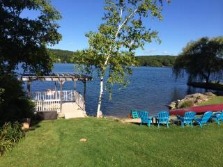 Premiere Lakefront Home on Tranquil West Hill Lake - Goshen vacation rentals