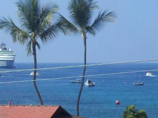 Kailua Bay Hideaway Direct Ocean Front Views !! - Kona Coast vacation rentals
