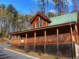 Heavenly, Country Porch, Bedside Jacuzzi, Private Hot Tub, Stone Fireplace - Sevierville vacation rentals