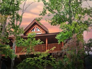 Rustic Cabin With Majestic Mtn. Views, Deck, Game Room, Jacuzzi, Amenities - Sevierville vacation rentals