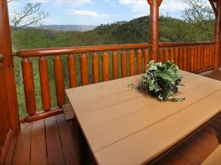 Rustic, Upscale, Luxury, Panoramic View, Hot Tub, Sauna, Game Room, Sleeps 10 - Sevierville vacation rentals