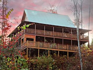 Paradise, Soaring, Vaulted Ceilings, Stacked Fireplace, Wrap-around Porches - Sevierville vacation rentals