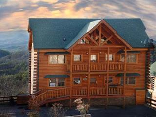 Paradise Mountain Pool Lodge a six bedroom cabin - Sevier County vacation rentals