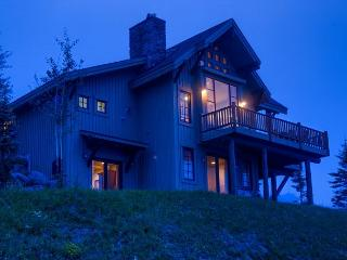 Spectacular views and more in this luxe home on the slopes of Moonlight Basin - Big Sky vacation rentals