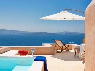 Blue Villas | Galini |Romantic villa, caldera view - Oia vacation rentals