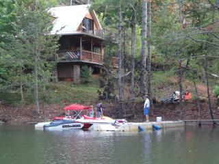 Lakefront House On Peninsula, Pet Friendly, Dock - Tennessee vacation rentals