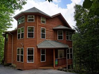 Four Bedroom Gatlinburg Luxury Log Cabin with Game Room in Chalet Village - Gatlinburg vacation rentals