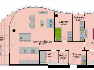 LU Superior Löwendenkmal - Allmend HITrental Apartment Lucerne - Lucerne vacation rentals