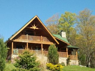 Damascus Luxury Log Cabin - Poconos vacation rentals