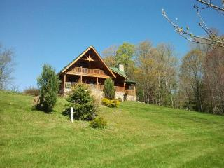 Damascus Luxury Log Cabin - Starlight vacation rentals
