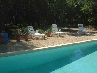 La Pichoune - Pool and large garden - Facing Mt Ventoux and vineyards - Mazan vacation rentals