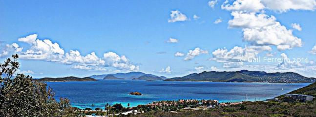 180 degree million dollar view from Ocean Kaleidoscope Villa! - Rich Ocean Views, Pool/Spa, Zen, Clean, Relaxing. - East End - rentals