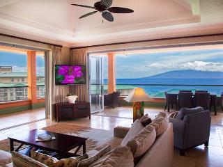 Maui Westside Properties: Konea 1019 - Ocean View 3 bedroom Penthouse with BBQ! - Kaanapali vacation rentals