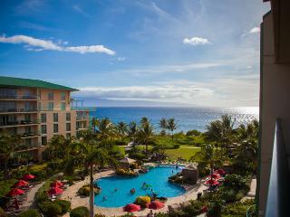 Maui Westside Properties: Hokulani 549 - Great Ocean View Interior Courtyard! - Kaanapali vacation rentals