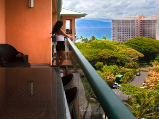 Maui Westside Properties: Konea 1024 - One Bedroom with Ocean View Penthouse Level! - Kaanapali vacation rentals