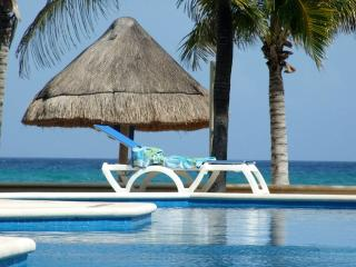 Luxurious Beach Front Condo with Spectacular Views - Yucatan-Mayan Riviera vacation rentals