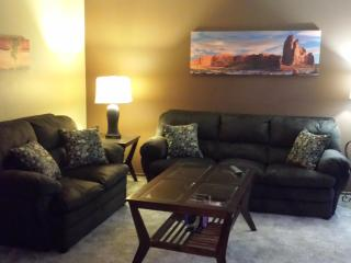 1 bed/1 bath newly renovated/fully furnished condo - North Dakota vacation rentals