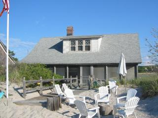 Beach House on the sand visit wineries kayaks swimming family reunion The Degan - Wading River vacation rentals