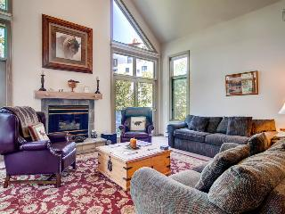 Right on the slopes - Ski in/out, walking distance to Gondola - The Emerald Elk at Village Creek - Mountain Village vacation rentals